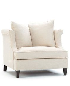 Martha Stewart Living Room Chair, Eaton - Chairs & Recliners - furniture - Macy's from Macy's