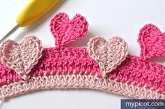 Örgü Kalpli Battaniye Yapılışı 12