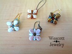 Pattern for Perky Pips Bracelet and Earrings by WescottJewelry