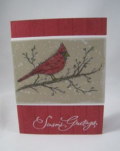 Beauty of the Season- Stampin' Up by Miechelle Weber