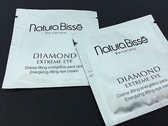 2x2ml NATURA BISSE Diamond Extreme Eye Cream = total 4ml