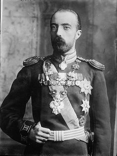 Grand Duke Michael Mikhailovich of Russia. He would be banished from Russia for marrying a commoner, Countess Sophie of Merenberg, and lived in England for most of the rest of his life.