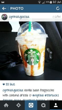 Oh how I could go for a Vanilla bean frappuccino right now. #Starbucks