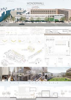이미지를 클릭하면 창이 닫힙니다. Concept Board Architecture, Architecture Student Portfolio, Architecture Presentation Board, Architecture Panel, Presentation Board Design, Architect Design, Exterior Design, Layout Design, Design Projects
