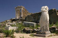 Temple d'Isis à Délos - Grèce