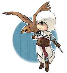 Chibi Altair by tatsuri.deviantart.com on @DeviantArt