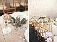 Toronto Outdoor Wedding Reception Decor