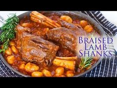 Braised Lamb Shanks with Gnocchi - Tatyanas Everyday Food