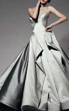 Zac Posen Pre-Fall 2014 Trunkshow Look 20 on Moda Operandi