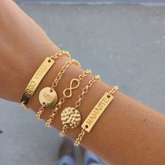 We have a thing for layering - all bracelets are $14 and under