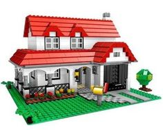 LEGO Creator House (4956) by LEGO. $199.99. Features plenty of pieces for roofs, walls, doors, windows, even trees and gardens!. Includes building instructions for 3 models and inspiration for more!. This spectacular set includes all the parts you'll need to design your own original creations. 731 Pieces - Build the house of your dreams with LEGO Creator!. Add a garage, driveway and fence in the yard - the possibilities are endless!. From the Manufacturer ...