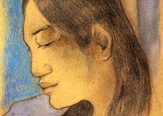 Amare habeo, Paul Gauguin, The Head of a Tahitian Woman Paul Gauguin, Gauguin Tahiti, Francis Picabia, Impressionist Artists, Female Profile, Sculpture, Henri Matisse, French Artists, Art Fair