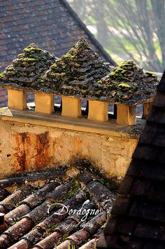 Roofs, Dordogne, France by S. Lo - Sigfrid Lopez