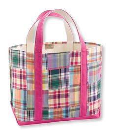 LL Bean madras tote...have wanted this for a few years now!
