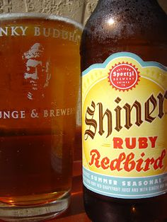 Shiner Ruby Redbird... One of the best summer beers ever.