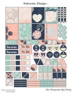 FREE Blush Planner Stickers by Keturah Design Planners and organizers To Do Planner, Free Planner, Happy Planner, 2015 Planner, Blog Planner, Wash Tape, Goodnotes 4, Planner Decorating, Planner Supplies