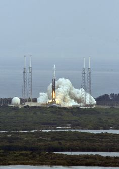 A rocket carrying a national defense satellite was launched Friday from Vandenberg Air Force Base. At 7:19 p.m., the Atlas V rocket blasted from the military base just north of Santa Barbara, accor...