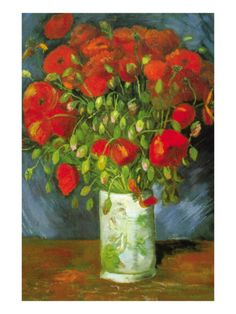 Red Poppies Vincent van Gogh