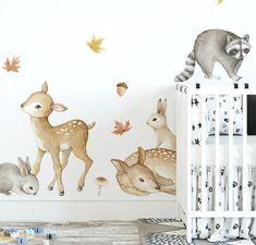 Woodland Animals Wall Decals – Faith Laine
