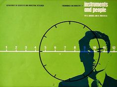 ken garland & associates: graphic design: ministry of technology: Cover for Ergonomics for industry No.2: instruments and people