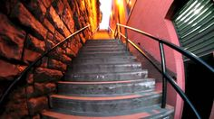 Famous stairs from the final scene in The Exorcist The location is in Georgetown, Washington DC. The address is 3600 Prospect Street, Georgetown, Dis. The Exorcist 1973, Prospect Street, Washington Dc, Stairs, Scene, Home, Movies, Films, Stairway