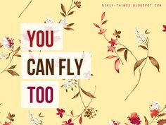 and YOU can fly too