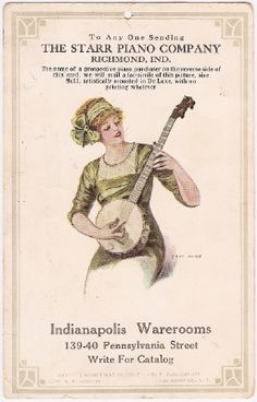 Love... A historical Naptown ad WITH a banjo!!!!!!!