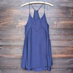 bohemian day dress - navy Great dresses at affordable prices shop http://hearts.com