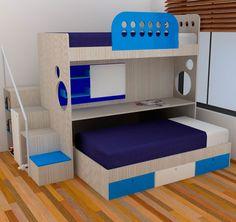 Descubre los mejores cuartos juveniles que KiKi Diseño y Decoración tiene para ti, con el respaldo de Formas y Madera.