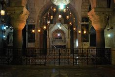 Old City of Jerusalem - Holy Sepulchre - Armenian church - The Chapel of Saint Helena (12th century)