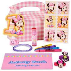 Disney Minnie's 1st Birthday Party Favor Box, 66985