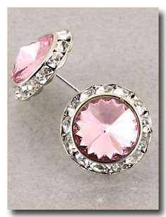 The fabulous Bella Big Blings! Every girl MUST own a pair! Swarovski Crystal, nearly the size of a quarter, $32