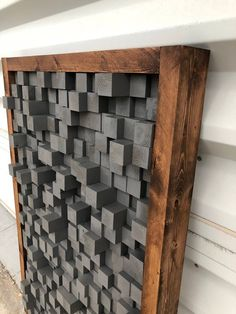 Reclaimed Wood Sound Diffuser Acoustic Panel SoundProofing Proof Pixel art grey wood art art wooden art new studio Reclaimed Wood Sound Diffuser Acoustic Panel SoundProofingEtsy Reclaimed Wood Art, Recycled Wood, Rustic Wood, Wood Wood, Painted Wood, Wood Planks, Wooden Wall Art, Wooden Walls, Wood Projects That Sell