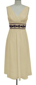 Katherine Styles Creme Beige Goddess Beaded Waist Dress. Katherine Styles Creme Beige Goddess Beaded Waist Dress on Tradesy Weddings (formerly Recycled Bride), the world's largest wedding marketplace. Price $45.00...Could You Get it For Less? Click Now to Find Out!
