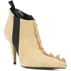 53e85e01c6b Loewe Zig Zag ankle boots (48 375 UAH) ❤ liked on Polyvore featuring shoes