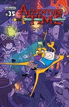 """Read """"Adventure Time Vol. by Pendleton Ward available from Rakuten Kobo. It's the end of one era and the beginning of another in this collection that includes the very the last issue by Ryan No. Adventure Time Poster, Adventure Time Wallpaper, Adventure Time Finn, Adventure Time Cartoon, Abenteuerzeit Mit Finn Und Jake, Finn Jake, Adveture Time, Story Time, Story Arc"""