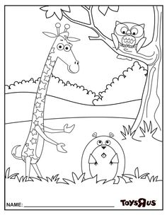 Print this adorable coloring page, and your little one can make their prediction for Giraffe Crafts, Curious Kids, Baby Activities, Groundhog Day, Never Grow Up, Kids Playing, Growing Up, Coloring Pages, Snoopy