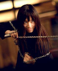 "Chiaki Kuriyama as ""GoGo Yubari"""