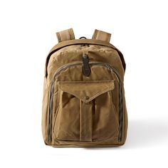 Photographer's Backpack Filson $385 Green and Tan