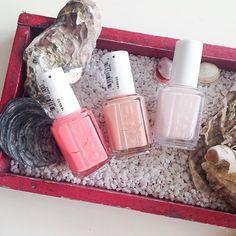 Diese Schönheiten hab ich für je 5€ im #roermondoutlet erstanden  Es sind 'lounge lover', 'high class affair' und 'peak show'  wundervolle Farben für den Sommer ☺️ Welcher Essie Nagellack ist zur Zeit euer Favorit?  #essie #nagellack #essiepolish #essieliebe #essielove #nailpolish #summercolor #essiedeutschland #beauty #beautyblogger #cosmetics #beautyaddict #beautyblog
