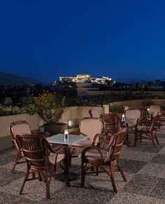 Lovely 4-star hotel in #Athens city center. Amazing views form the rooftop terrace. The swimming pool is also on the rooftop!
