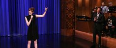 Emma Stone Crushes Jimmy Fallon In Hilarious Lip Sync Battle. One more reason to love this woman.