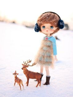 Jerryberry with little deers