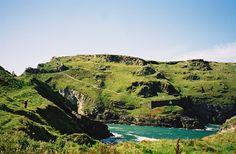 Tintagel, birthplace of King Arthur.