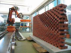 Computer Lays the Prettiest Brick Walls Since Eladio Dieste : TreeHugger