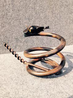 Horseshoe spring snake