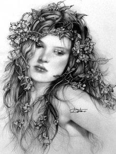 Arantza Sestayo Gallery | Pencil portrait by Spanish artist Arantza Sestayo