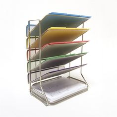 Shop Vancouver Classics  OFF42666 6-Tray Mesh Office Desk Wall Organizer at Lowe's Canada. Find our selection of office shelves & storage at the lowest price guaranteed with price match + 10% off.