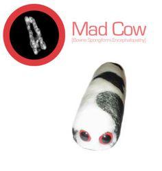 Giant Microbes Mad Cow | Giant Microbes Mad Cow (Bovine spongiform ) Stuffed Plush Toy, Fun ...