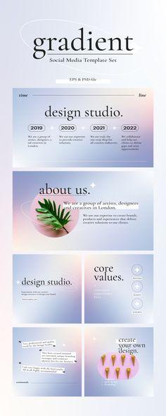 Brand Presentation, Presentation Layout, Presentation Templates, Powerpoint Slide Designs, Powerpoint Design Templates, Branding Template, Graphic Design Fonts, Branding Design, Grafik Design